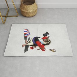 Itching to Perform (Wordless) Rug