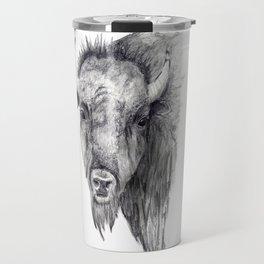 Bison Art Travel Mug