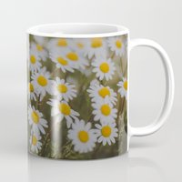 daisies Mugs featuring Daisies by Hello Twiggs