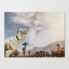 Pee Wee's Dinosaurs Canvas Print