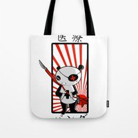 medical Tote Bags featuring Medical Panda by PweT