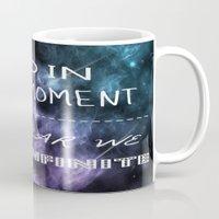 infinite Mugs featuring Infinite by Britney Elizabeth