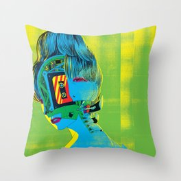 The Singer Throw Pillow