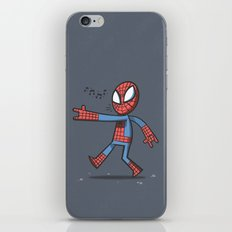 Spidey Walking iPhone & iPod Skin