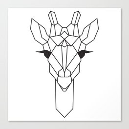 raya goods : jamie the giraffe Canvas Print