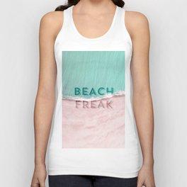Beach freak Unisex Tank Top