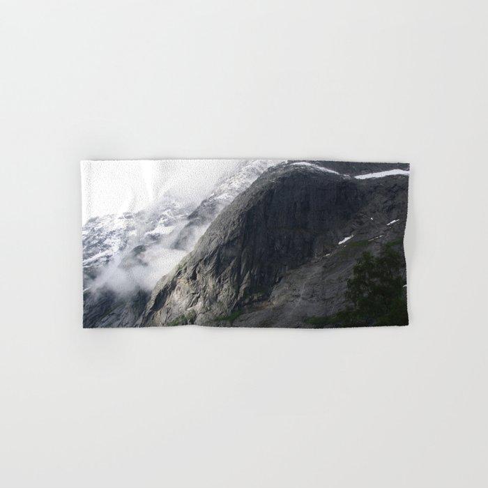 Mountain landscape #norway Hand & Bath Towel