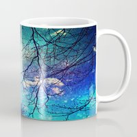 night sky Mugs featuring night sky by Sylvia Cook Photography