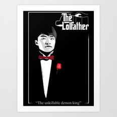 The LoL father Art Print