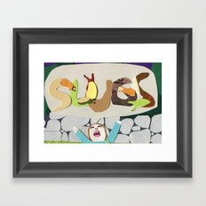SLUGS Framed Art Print