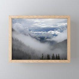 Travell The Valley of Mist Framed Mini Art Print