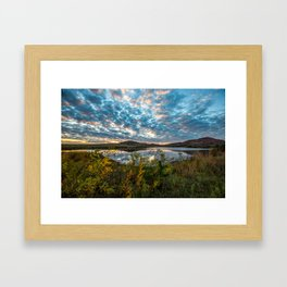 Wichitas Wonder - Fall Colors and Big Sky in Oklahoma Framed Art Print