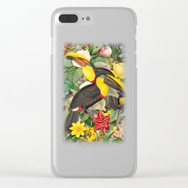 Toucans 2 Clear iPhone Case
