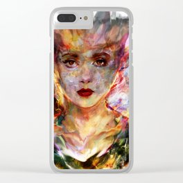 blade runner Clear iPhone Case