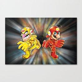 Super Flashy Rivals Canvas Print