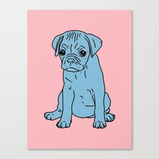 Sad Puppy, 2013. Canvas Print