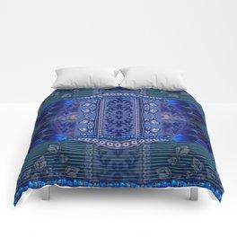 Indigo Fetish Comforters