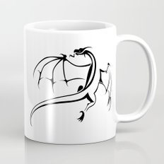 A simple flying dragon Mug