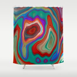 Colors Dynamics Shower Curtain