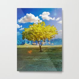The Wrong Harvest Metal Print