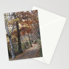 Into the fall woods. Yesterday Stationery Cards