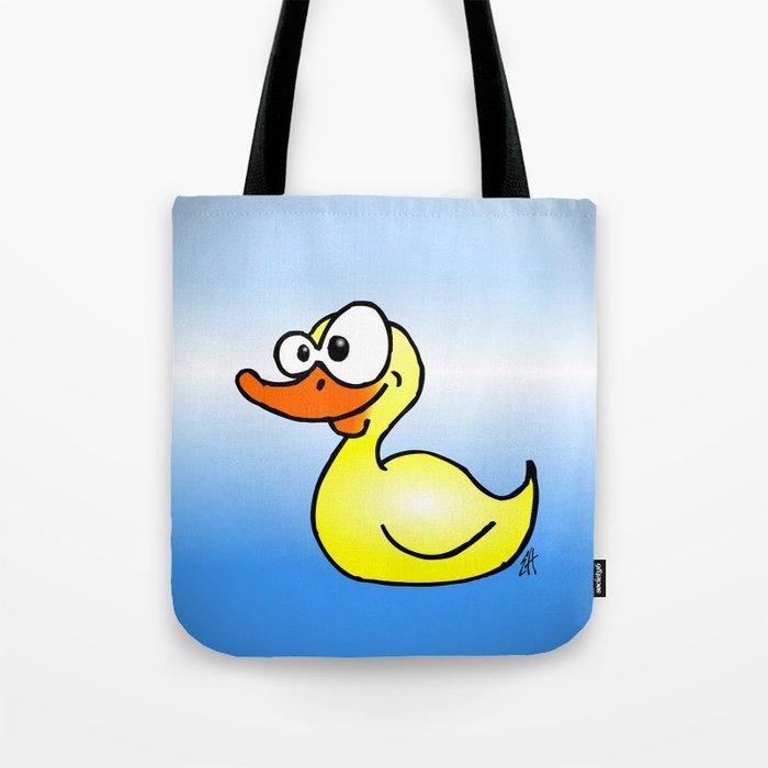 Rubber duck Tote Bag