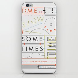 Haikuglyphics - Thyme iPhone Skin