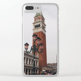 Venezia II Clear iPhone Case