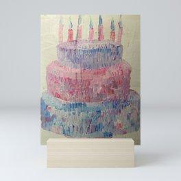 Birthday Cake Mini Art Print