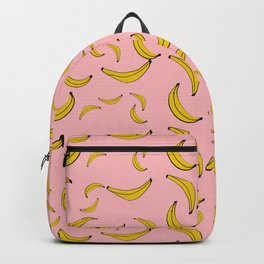 Sea of bananas pink Backpack