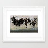 dramatical murder Framed Art Prints featuring Murder by Jyri Straechav