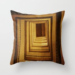 Surreal Staircase Throw Pillow