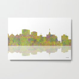 Oakland, California Skyline Metal Print