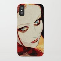 harley iPhone & iPod Cases featuring Harley by Sirenphotos