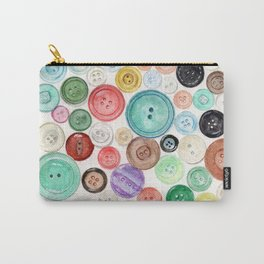 Buttons! Carry-All Pouch