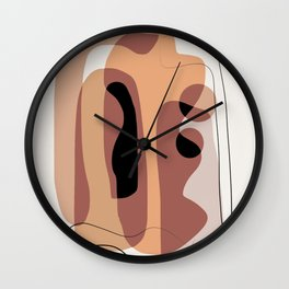 Layer after layer of abstract Wall Clock