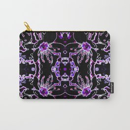 Neon Cherry Blossom Carry-All Pouch