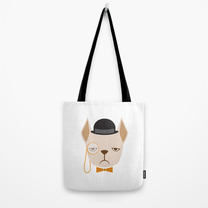 Dapper French Bulldog Tote Bag