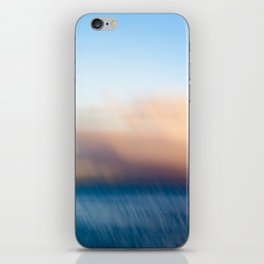 Sunset after the rain iPhone Skin