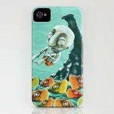 Take a Risk! - Piranhas iPhone (4, 4s) Slim Case