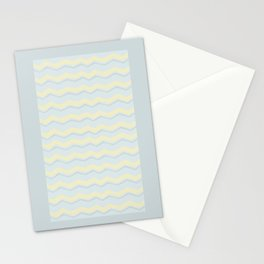 Abstract Zigzag Stationery Cards