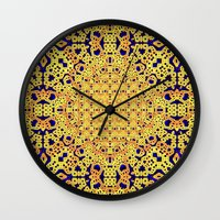 royal Wall Clocks featuring Royal by Lyle Hatch