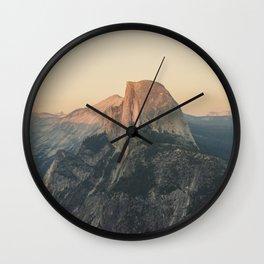 Half Dome III Wall Clock