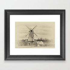 Llancayo Mill Antique Framed Art Print