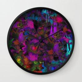 Lysergic Lujan Wall Clock