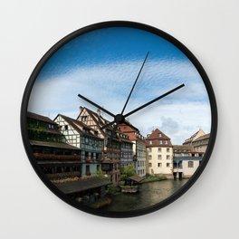 La Petite France Wall Clock