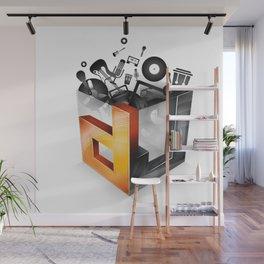 DJ Wall Mural