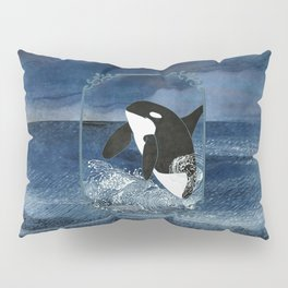 Killer Whale Orca Pillow Sham