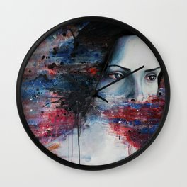 Aphasia Wall Clock