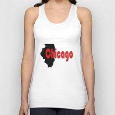 Chicago Unisex Tank Top